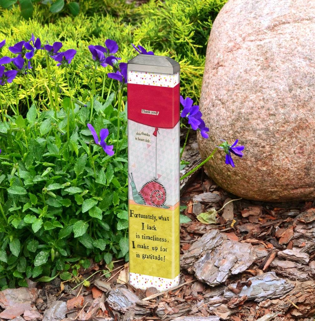 "So Grateful 13""  Mini Art Pole by Studio M"