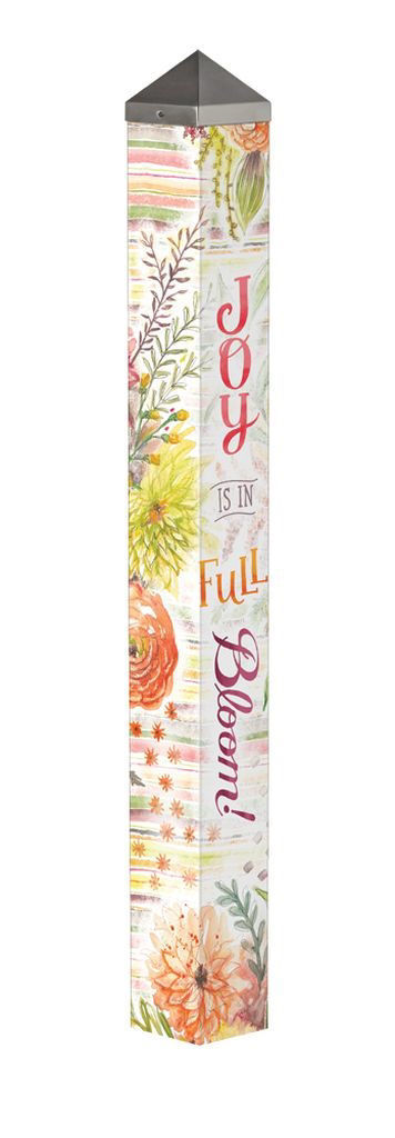 "Fresh Flowers 40"" Art Pole by Studio M"