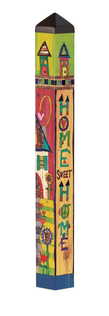 "Family Home 40"" Art Pole by Studio M"