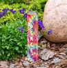 """Red Tie-Dye 13""""  Mini Art Pole by Studio M"""