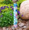 """Blue Tie-Dye 16"""" Mini Art Pole by Studio M"""
