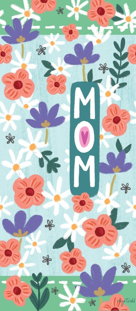 "Mom 16"" Mini Art Pole by Studio M"