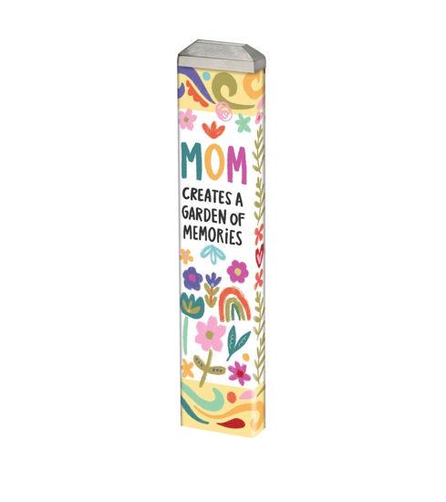 "Mom's Garden 13""  Mini Art Pole by Studio M"