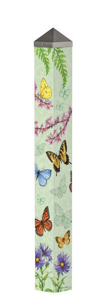 "Butterfly Dance 40"" Art Pole by Studio M"