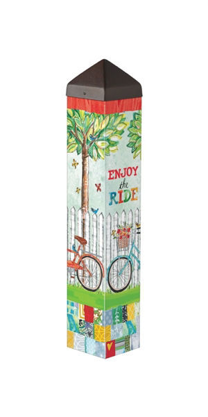 "Enjoy the Ride 20"" Art Pole by Studio M"
