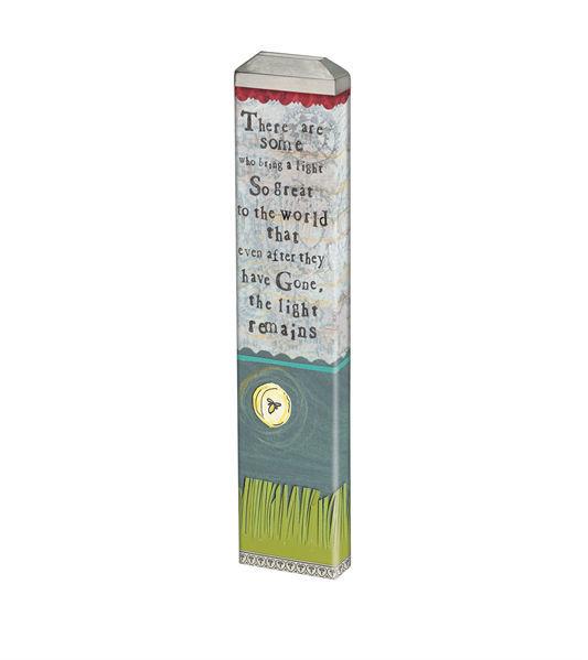 "A Light Remains  13"" Mini Art Pole by Studio M"
