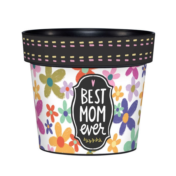 "My Mom's the Best 6"" Art Pot by Studio M"