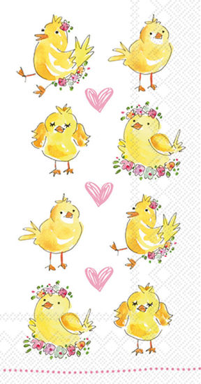 Easter Chicks Guest Towel by Boston International