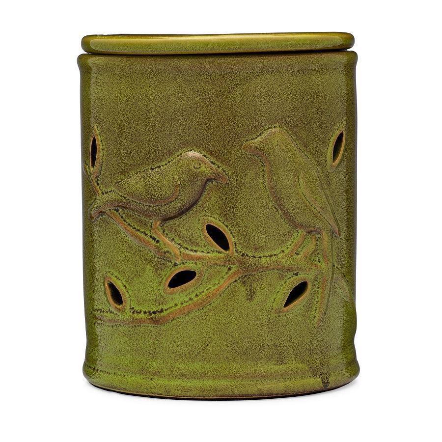 Barn Green Bird Electric Wax Warmer by 1803 Candles
