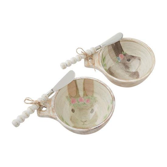 Bunny Dip Bowl Sets by Mudpie