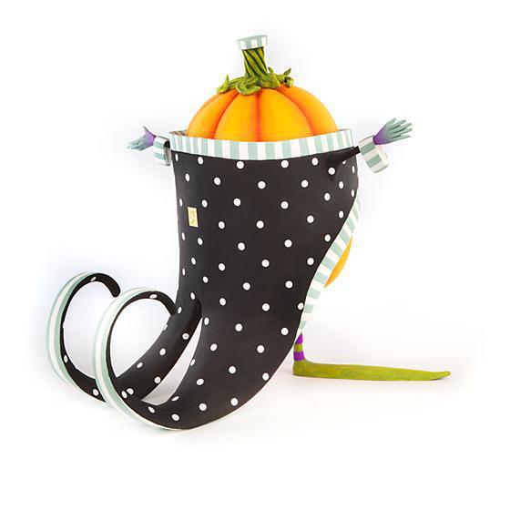 Jimbo Pumpkin Figure by Patience Brewster