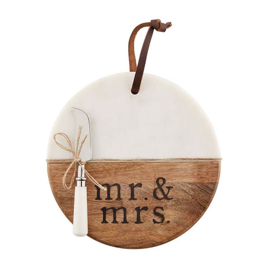 Mr. and Mrs. Board Set by Mudpie