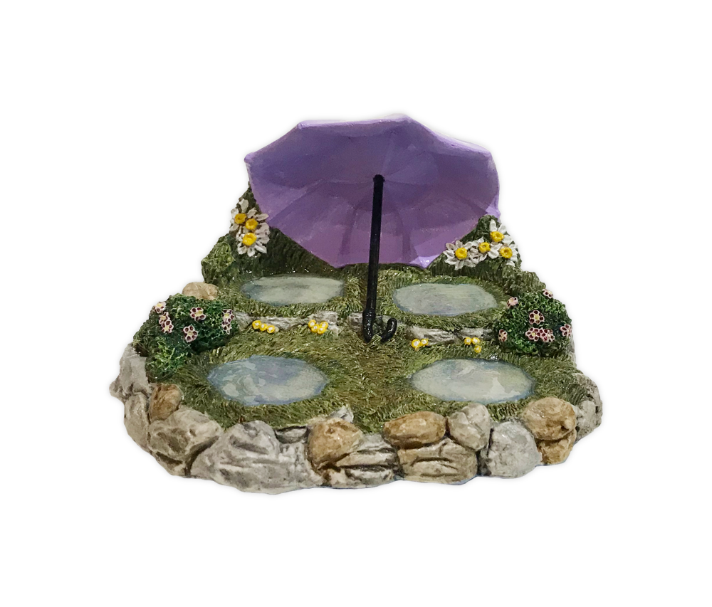 Rainy Day Displayer  (Purple) by Habitat Hideaway
