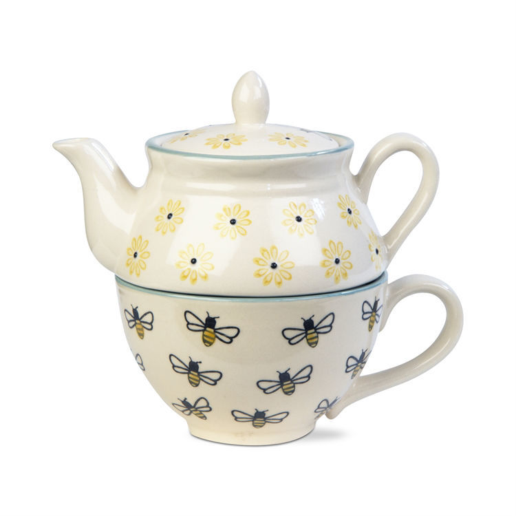 Honeybee 2 Piece Tea For One Set by TAG