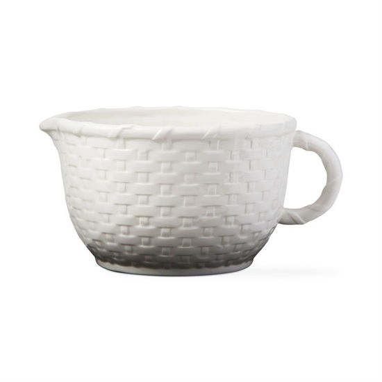 Basket Weave Batter Bowl by Tag