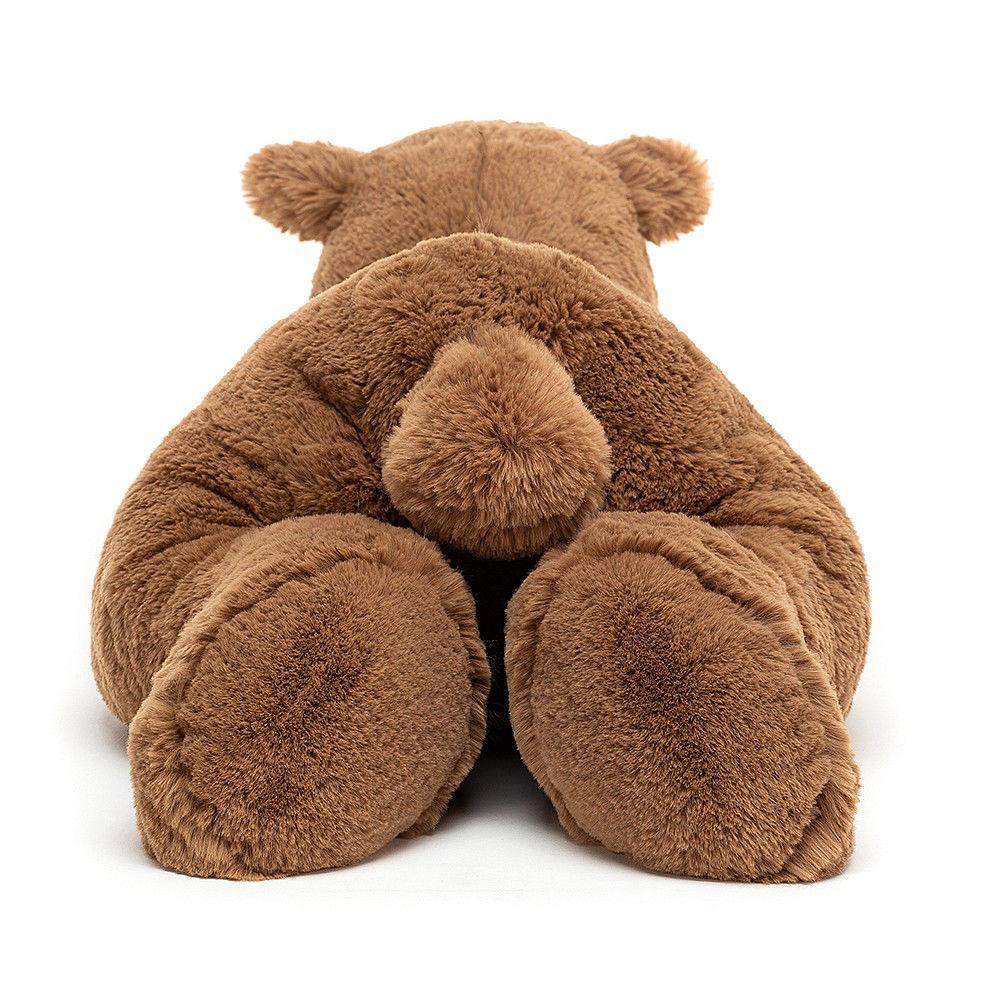 Woody Bear Lying by Jellycat