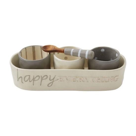 Happy Dip & Cracker Set by Mudpie