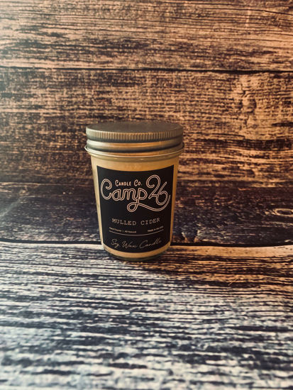 Mulled Cider 8oz Jar by Camp 26 Candle Co