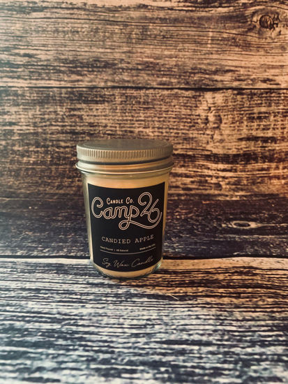 Candied Apple 8oz Jar by Camp 26 Candle Co