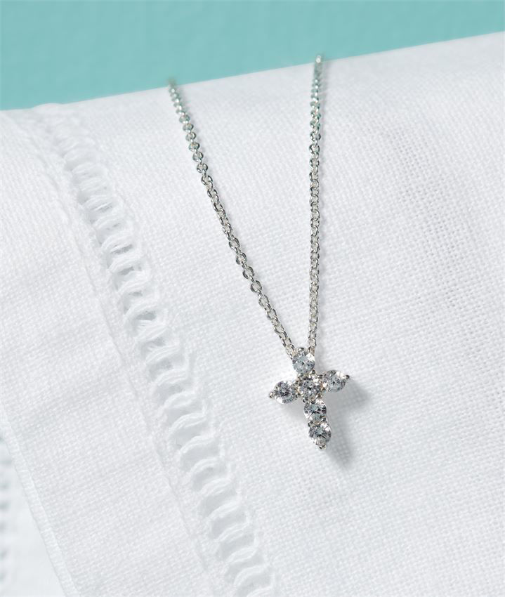 My First Cross Necklace by Mudpie