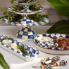 Royal Check Enamel Baguette Dish by MacKenzie-Childs