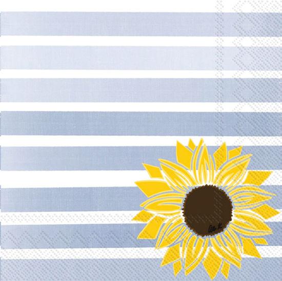 Pattern Play Sunflower Cocktail Napkin by Boston International