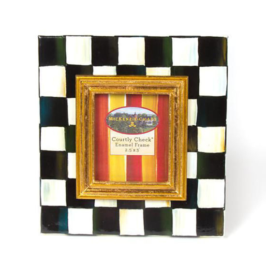 "Courtly Check Frame - 2.5"" x 3""  by MacKenzie-Childs"