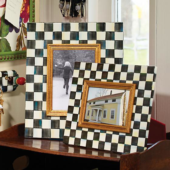 """Courtly Check Frame - 4"""" x 6""""  by MacKenzie-Childs"""