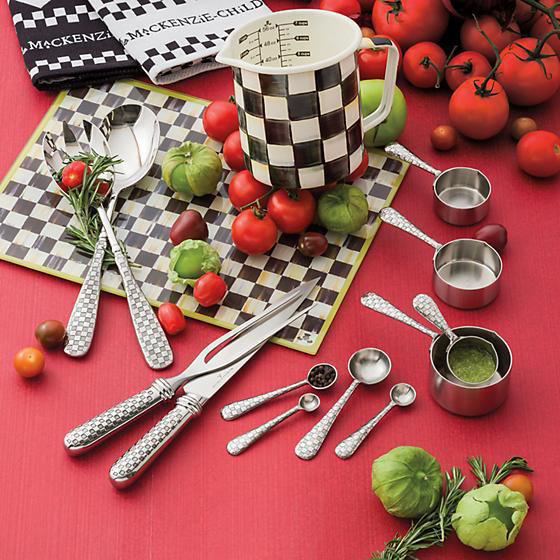 Check Salad Serving Set by MacKenzie-Childs