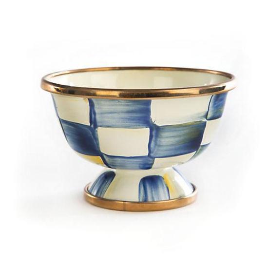 Royal Check Enamel Little Sugar Bowl by MacKenzie-Childs