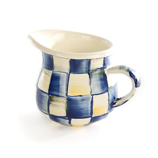 Royal Check Enamel Little Creamer by MacKenzie-Childs