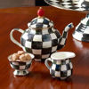 Courtly Check Enamel Little Sugar Bowl by MacKenzie-Childs
