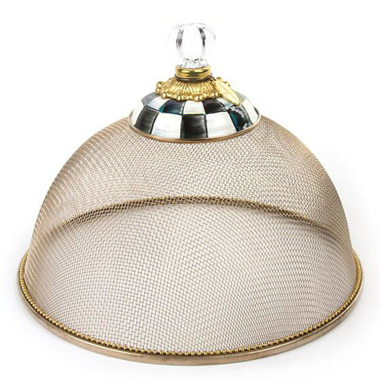 Courtly Check Mesh Dome - Small by MacKenzie-Childs