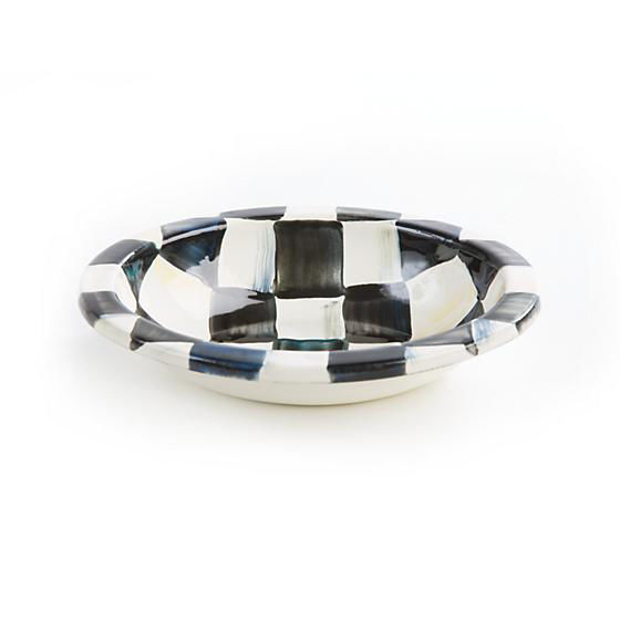 Courtly Check Enamel Soap Dish by MacKenzie-Childs