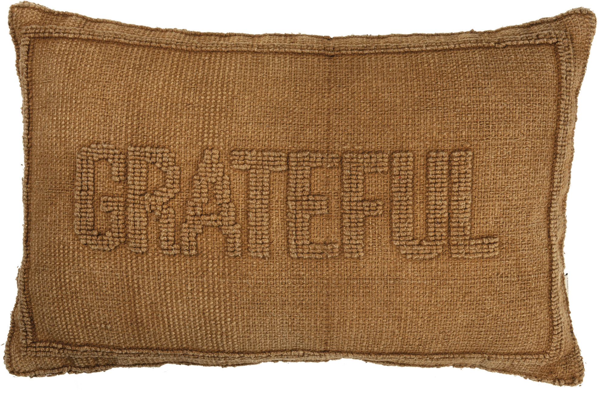 Grateful Pillow by Primitives by Kathy