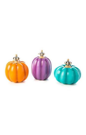 Fairytale Mini Pumpkins - Set of 3 by MacKenzie-Childs