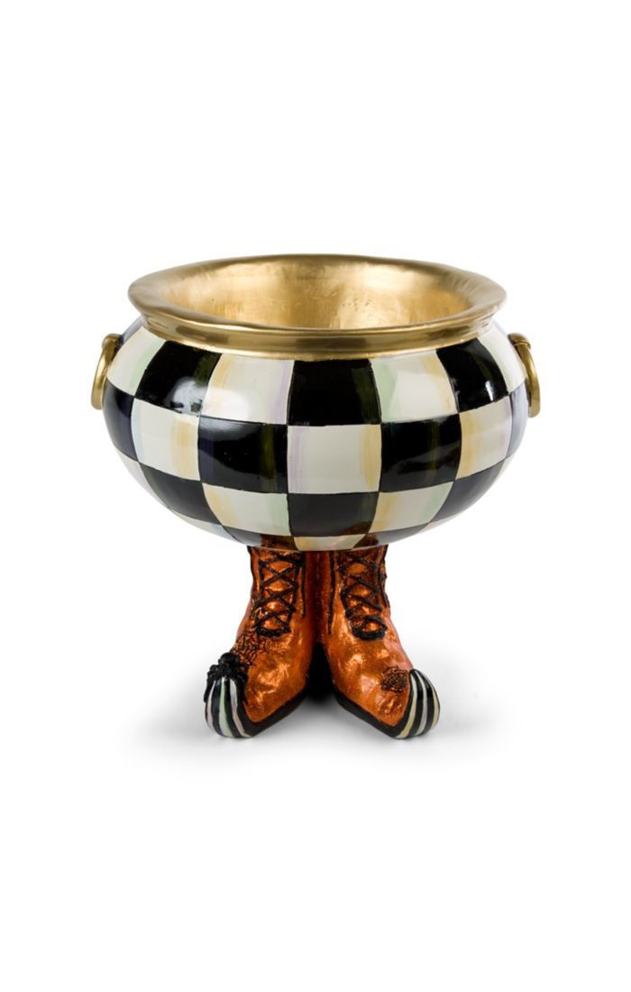Courtly Check Cauldron by MacKenzie-Childs