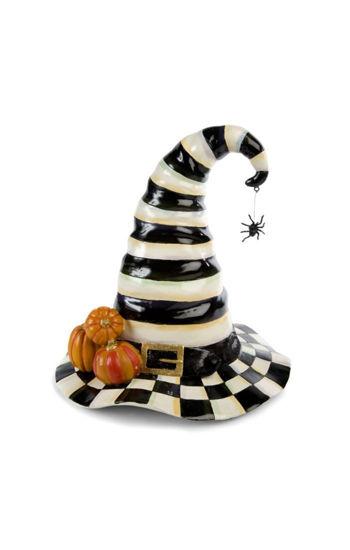 Courtly Stripe Witch's Hat by MacKenzie-Childs