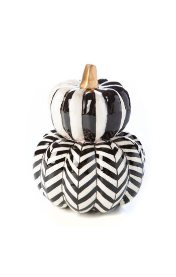 Courtly Stacked Pumpkins by MacKenzie-Childs