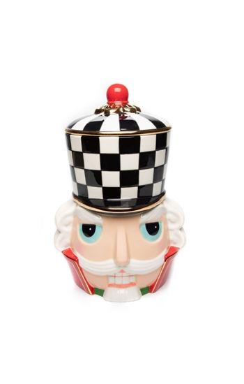 Buckingham Nutcracker Cookie Jar by MacKenzie-Childs