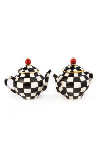 Teapot Salt & Pepper Set by MacKenzie-Childs
