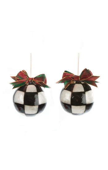 Jester Fancy Ornaments - Large- Set of 3 by MacKenzie-Childs