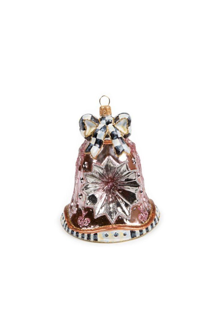 Glass Ornament - Della Robbia Bell by MacKenzie-Childs