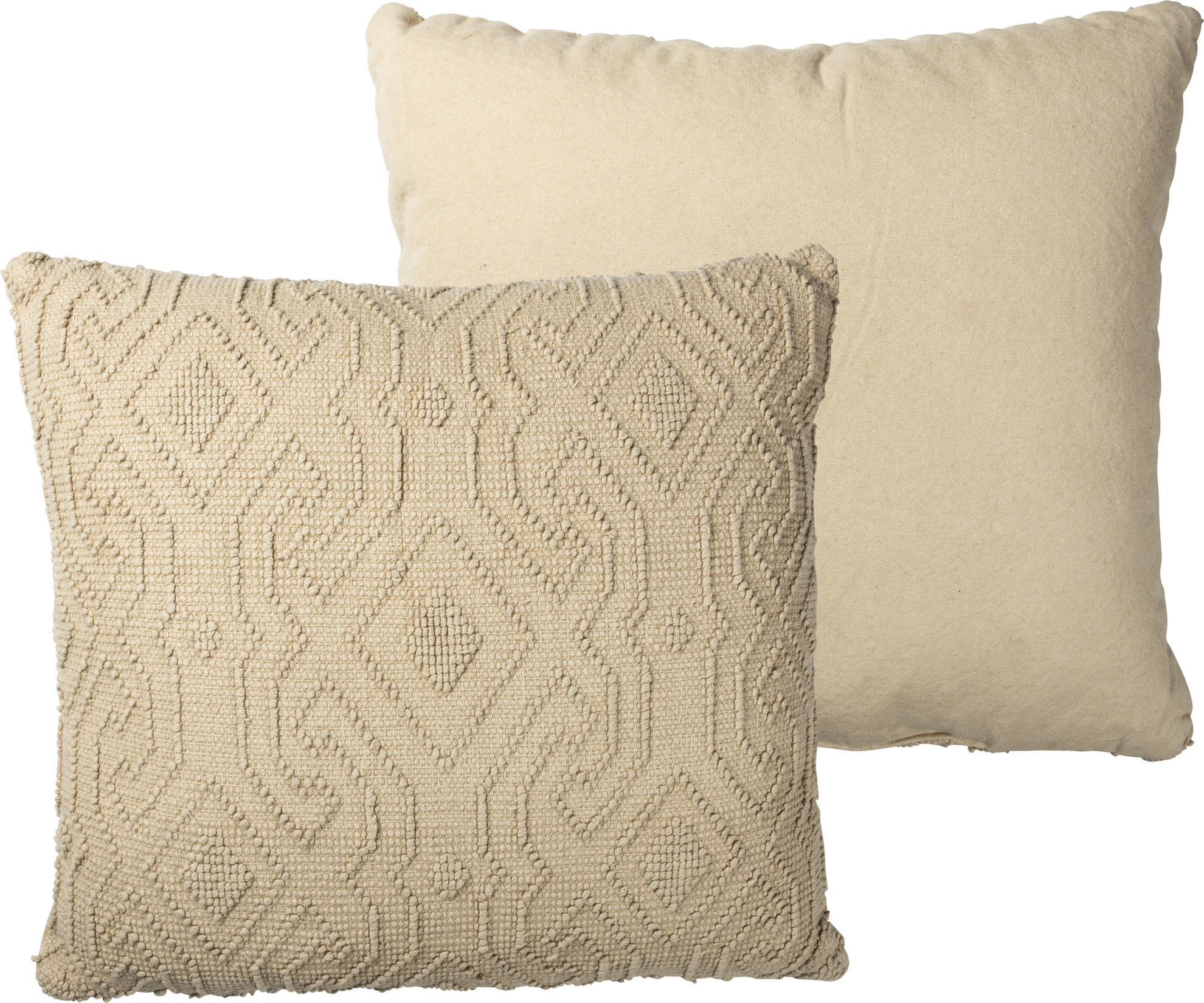 Geometric Pillow by Primitives by Kathy