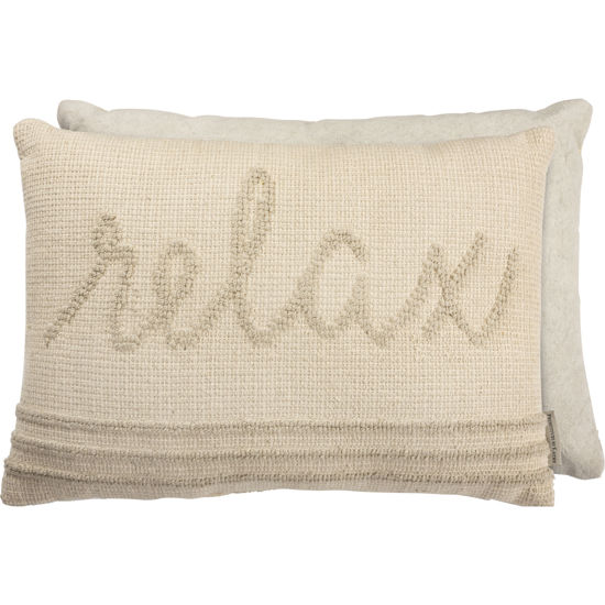 Relax Pillow by Primitives by Kathy