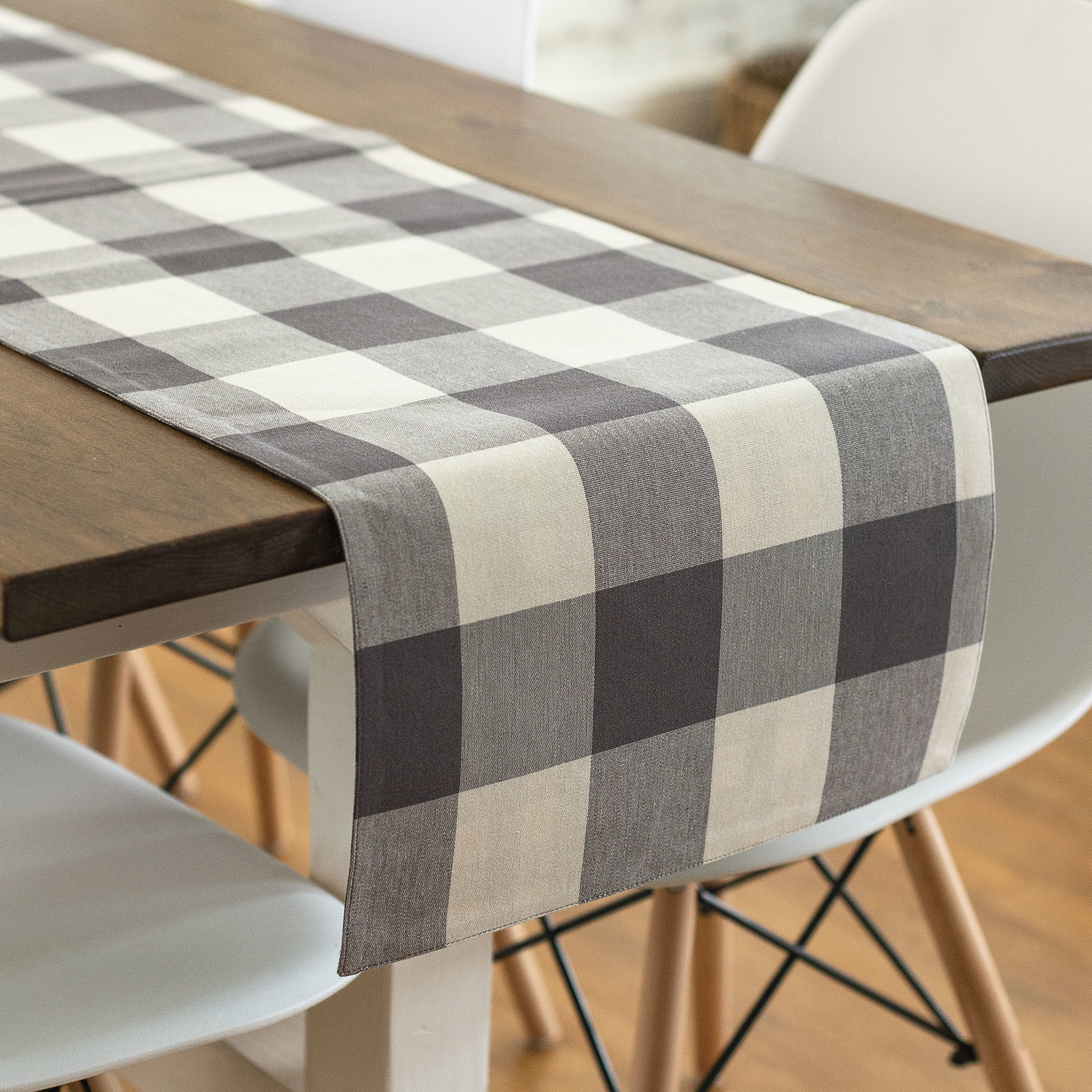Buffalo Check Table Runner by Primitives by Kathy