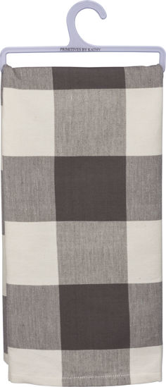 Buffalo Check Dish Towel by Primitives by Kathy