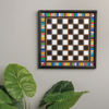 Checkers Wall Game by Primitives by Kathy