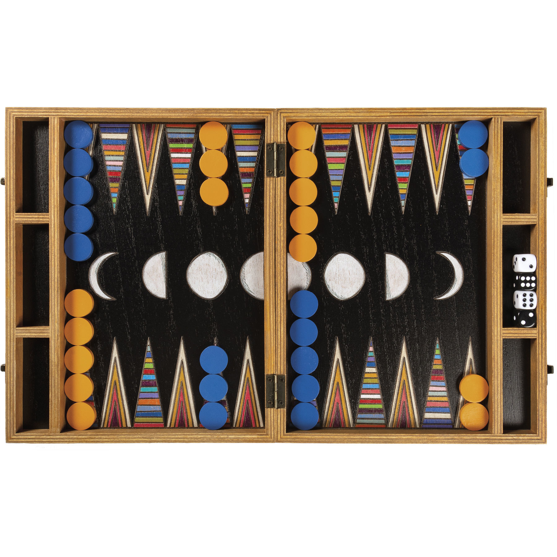 Backgammon Travel Game by Primitives by Kathy