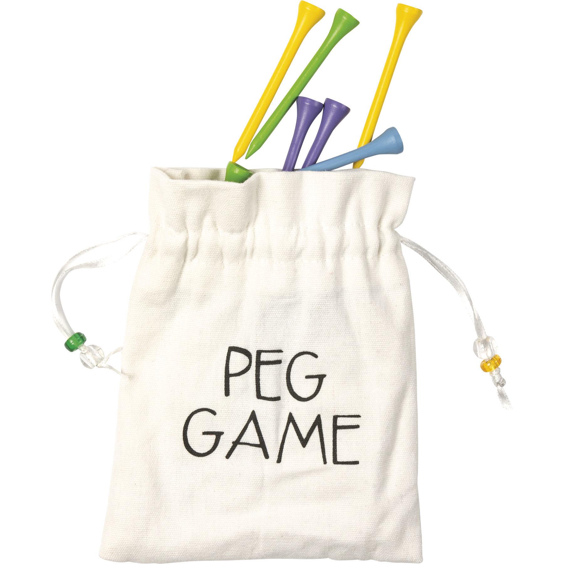 Peg Desk Game by Primitives by Kathy